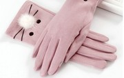 Autumn Winter Gloves Touch screen windproof Waterproof cycling motorcycle ladies ride Winter plush thickening warm autumn