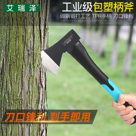 斧头劈柴开山大砍长斧子 木工小斧头刀家用户外木匠砍柴板斧战斧