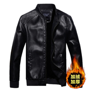 Daily special spring autumn and winter new men's leather coat men's coat plus thick leather jacket