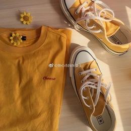 converse/匡威1970S三星标 黄色低帮 黄色高帮 帆布鞋男女151229C