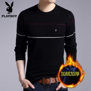 Men's T-shirt warm winter dandy shirt with long sleeve shirt dress cashmere thickening loose young male