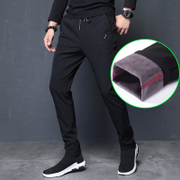 With cashmere casual pants pants feet 2017 new trend of Korean men's pants male winter autumn and winter