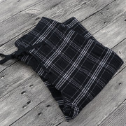 A female COTTON PAJAMA PANTS Plaid Cotton Home Furnishing Nautica Europe Code D 1954 increase