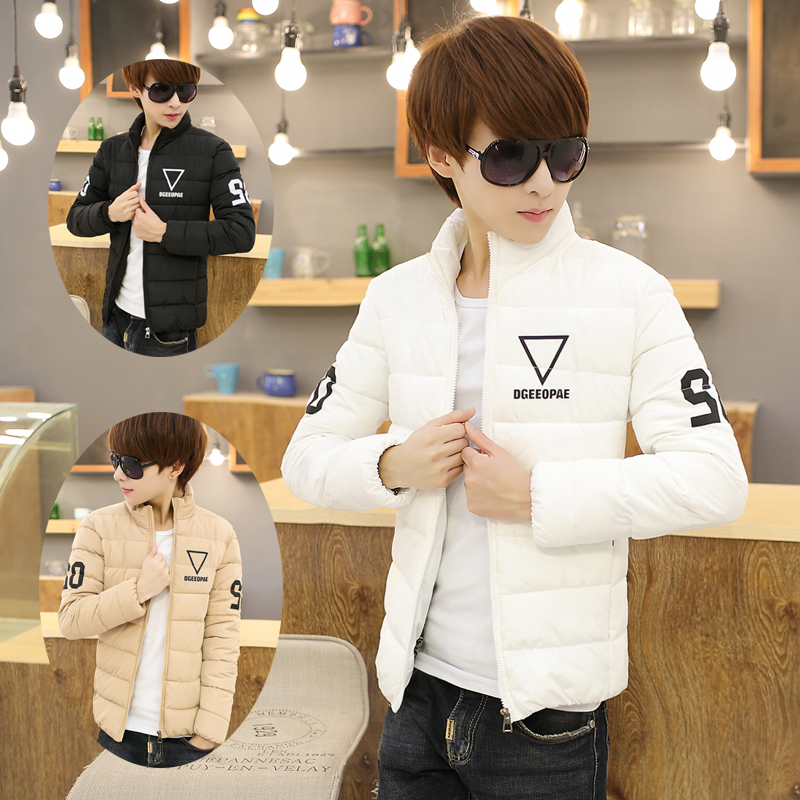 Men's coats Winter 2016 new young Korean short-coat male self-cultivation cotton padded clothing