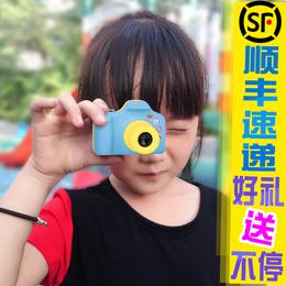 儿童数码照相机玩具运动摄像头微型摄像机仿真复古单反卡片录像机