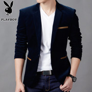 Spring and autumn new suit dandy male business casual men's suits slim thin then West men's coat