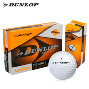 The British DUNLOP official genuine double layer three layer two golf balls game ball four ball