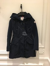 Paris counter buying Moncler lady windbreaker 18 spring summer AUDREY waist hooded windbreaker jacket