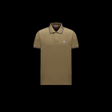 Moncler / Mengkou 2018 new early summer cotton short-sleeved pearl buckle polo shirt 1004511T shirt male