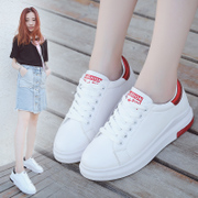 White shoe shoes 2017 summer new Korean leisure shoes thick floor flat shoes shoes autumn student