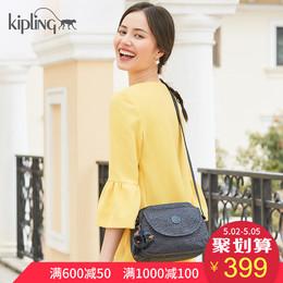 Kipling包包2018新款女背包K15313休闲女包百搭斜挎包时尚印花包
