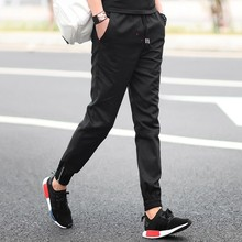 In the spring of 2017 new men's casual pants pants Haren camouflage trend of Korean all-match quick drying pants feet movement
