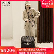 Travel suitcase net red tie-rod suitcase lady boarding suitcase Cardan wheel light suitcase tie-rod suitcase 20 inches