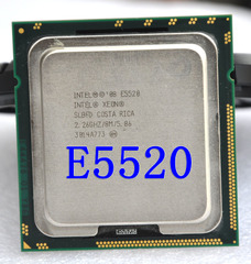 Intel quad-core Xeon E5520, L5520 E5540, E5530 CPU eight threads 1366 full version