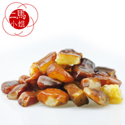 Horses Miss Baltic Amber beeswax natural ore stone leather pendant 2-5 processing yellow chicken oil
