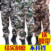 The summer Army Special Forces men overalls pants pants trousers loose military tactical camouflage pants casual camouflage pants