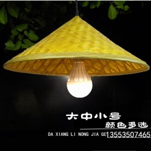 Vintage hats bamboo Chandelier Lamp Chandelier restaurant hats farmhouse chandelier chandelier lamp hat Chongqing small noodles