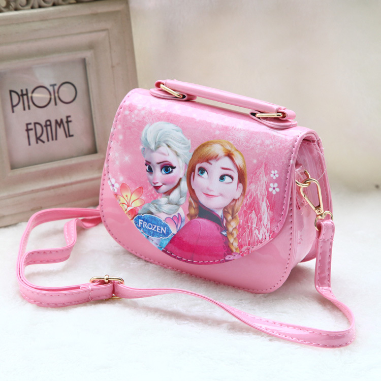 Snow country children's fashion princess Sophia inclined shoulder bag girl lovely tide with the bag in girl's bag