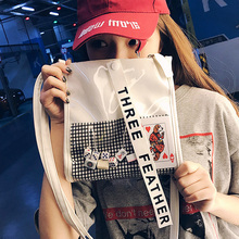 Transparent bag female 2018 summer new South Korea ins girl jelly bag personality creative hip-hop wind Messenger bag tide