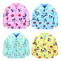 New child baby clothes for men and women in the winter padded coat jacket Liner Jacket coat 1-2-3-4 surge