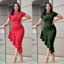 christmas dress 2020 fashion elegant dresses women plus size