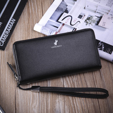 Long wallet wallet wallet business Korean male male students of business leisure bag wallet tide