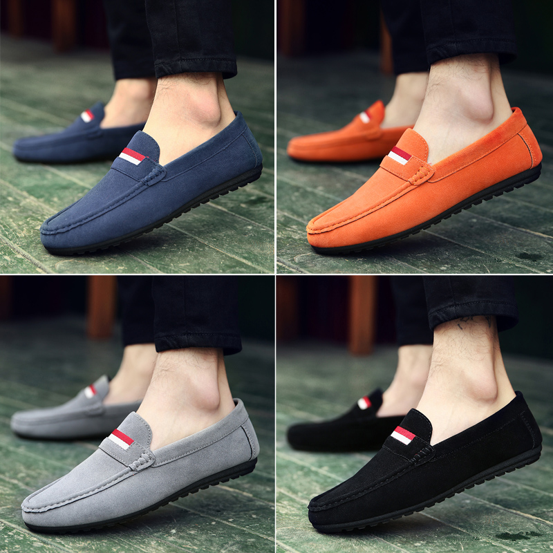 2017, the new summer men's bean shoes, Korean youth tide shoes, lazy men's shoes, trends, casual shoes