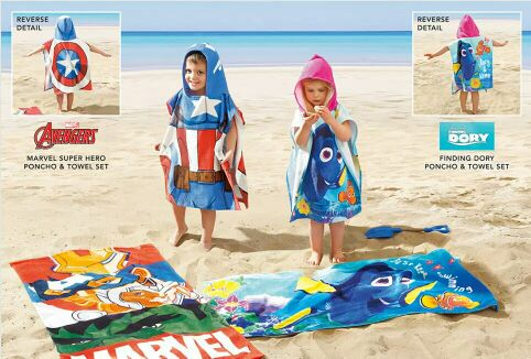Spot authentic British Next purchasing boy boy baby, Nemo towel, beach sunscreen cloak Cloak