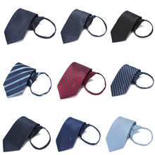 PLAYBOY dandy business suits occupation Zip Tie male easy to pull lounger tie married male