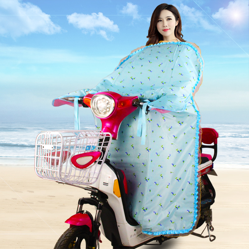 Summer new electric motorcycle in the summer sun shade sunscreen prevent wind be conjoined windshield beautiful price