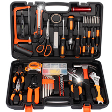 A combination of electrical hardware maintenance box with function of drill tool group green household carpenter set