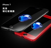 Apple iPhone6/7 toughened film China red soft full screen ip6/7 plus mobile phone film carbon fiber sticker