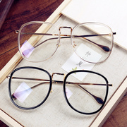 Retro sheet metal box mirror frames Chao han van can be equipped with the mirror for men and women of myopia 110020