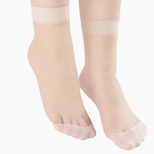 20 pairs of silk stockings women's thin anti-hook silk summer ultra thin crystal invisible glass stockings children's pink socks