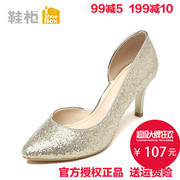 Shoe cabinet shoebox2017 spring and autumn fashion shoes, fashionable heels, high heels, single shoes, 1116202203