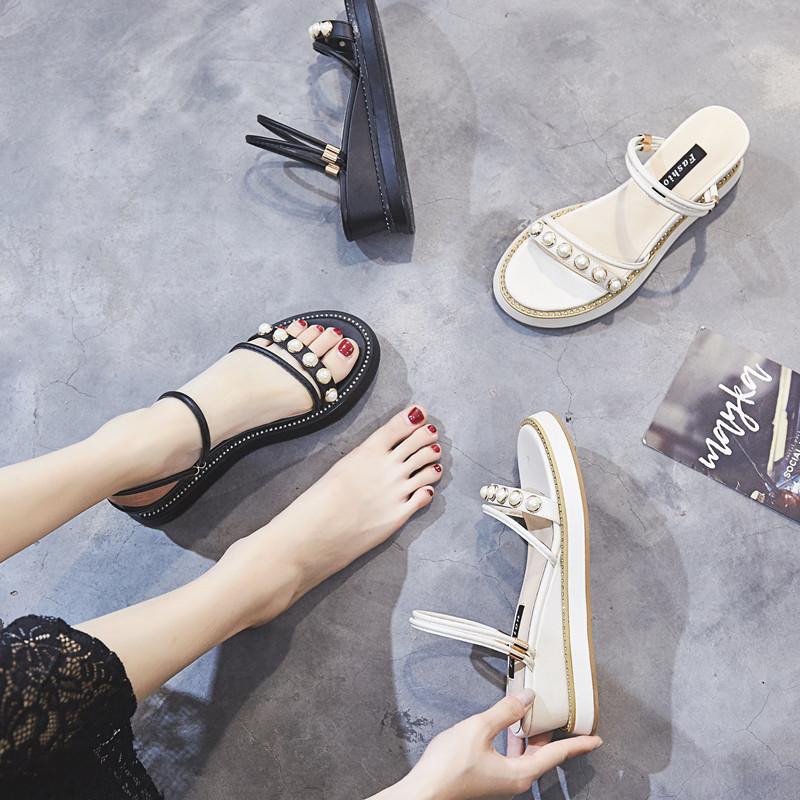 Купить Кожаные сандалии в Китае, в интернет магазине таобао на русском языке