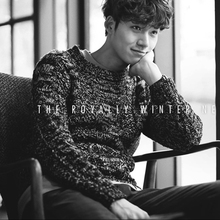 In the autumn of 17 new male young students fashion twist upset sweater Japanese retro British sweaters