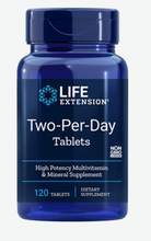 Life extension two per day tablets