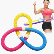 The hoop thin waist thin waist abdomen slimming ring adult female beauty waist soft spring increase fitness circle children hula hoop