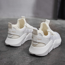 Thick crust ins super fire shoes female 2018 spring and summer new mesh sports shoes women breathable Korean ulzzang running shoes