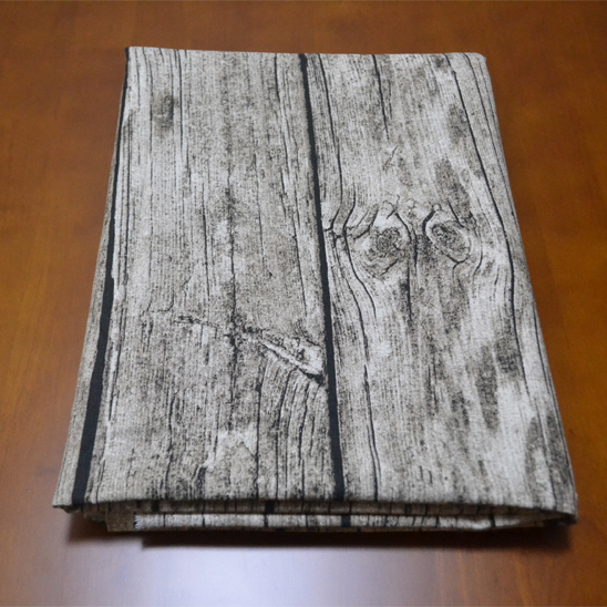 木纹树皮纹棉麻布料Zakka复古亚麻布窗帘布桌布手工拍照背景布料
