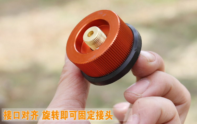 Converter head converter for outdoor camping furnace head converter