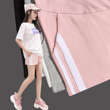 Pregnant women shorts female summer pregnant women pants thin section wear leggings wide leg sports pants 2018 new fashion summer clothes