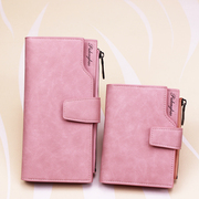 Many new small wallet card Korean female short small fresh LADIES DRESS ZIPPER hasp matte casual Wallet