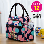 Thick waterproof Oxford canvas tote box bag leisure lunch omelet mummy bag small cloth hand bag
