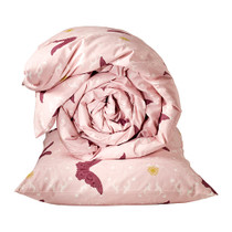 Purchasing IKEA XI snow butterflies light pink quilt cover and pillowcase childrens quilt