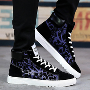 2016 new winter shoes casual shoes men with Korean sports shoes shoes warm winter cashmere