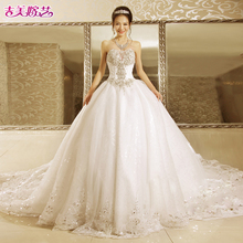 Ji Mei marry art 2017 new Korean version princess princess skirt 7156 bride wedding dress