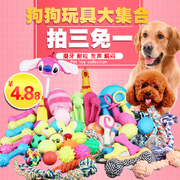 The dog bite toys screaming screaming chicken golden retriever puppies Teddy despair molar pet dog toy ball