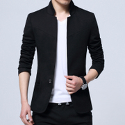 The fall of man suit jacket casual suit collar tunic youth male Korean slim men's shirt tide